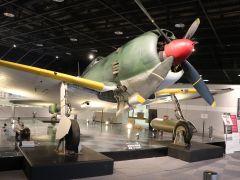 世界に1機しか現存していない,陸軍四式戦闘機「疾風」の展示「知覧特攻平和会館提供」