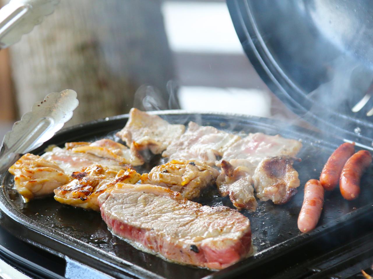 【TERACCE de BBQ PLAN】 時間:12:00~15:00,17:...