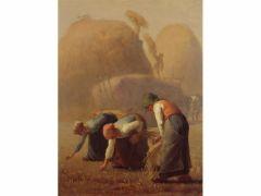ジャン=フランソワ・ミレー《落ち穂拾い、夏》1853年 山梨県立美術館所蔵